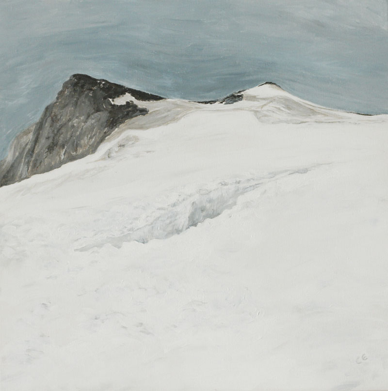 Gletscherspalte