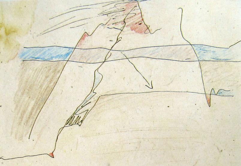Zeichnung aus dem Basislager