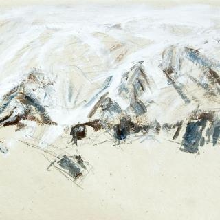 Zwei Gipfel mit Kar