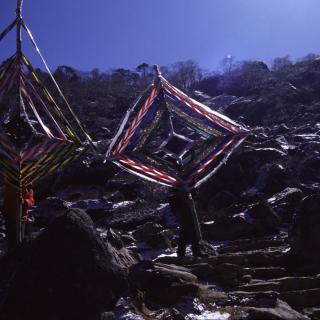 Geisterfallen im Everestgebiet