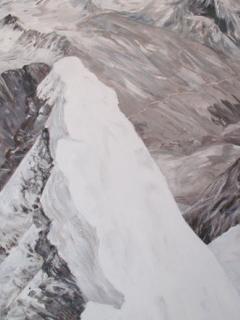 Kleinglockner Vorgipfel gemalt von Christine Eberl